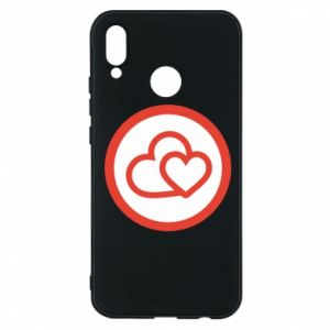 Huawei P20 Lite Case Two hearts