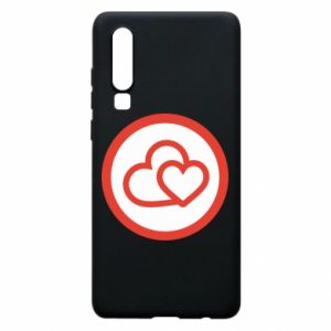 Huawei P30 Case Two hearts