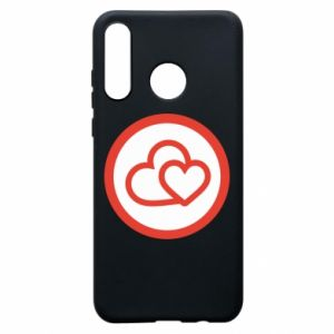 Phone case for Huawei P30 Lite Two hearts