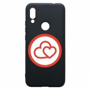 Xiaomi Redmi 7 Case Two hearts