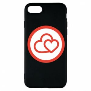 iPhone 7 Case Two hearts