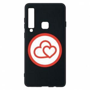 Phone case for Samsung A9 2018 Two hearts
