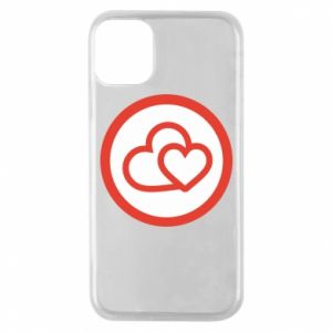 iPhone 11 Pro Case Two hearts
