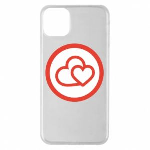 iPhone 11 Pro Max Case Two hearts