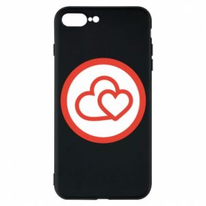 iPhone 7 Plus case Two hearts