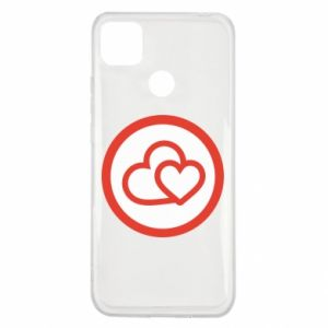 Xiaomi Redmi 9c Case Two hearts