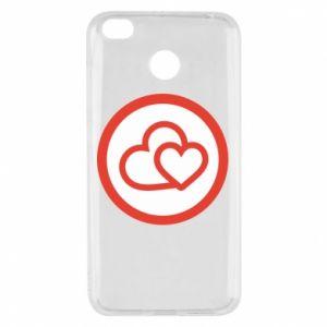 Etui na Xiaomi Redmi 4X Dwa serca