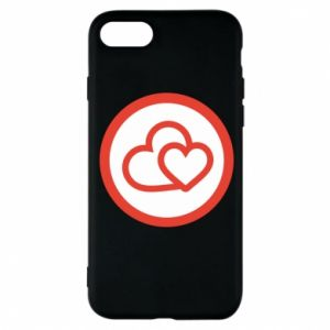 iPhone 8 Case Two hearts