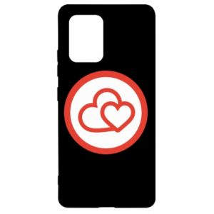 Samsung S10 Lite Case Two hearts