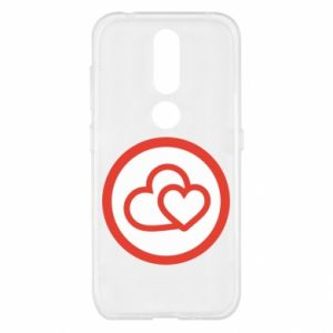 Nokia 4.2 Case Two hearts