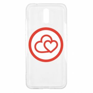 Nokia 2.3 Case Two hearts