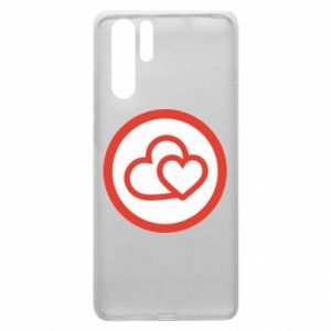 Huawei P30 Pro Case Two hearts