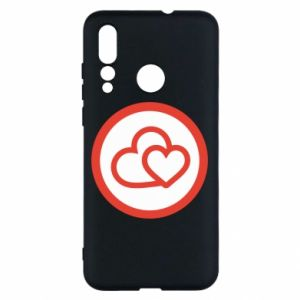 Huawei Nova 4 Case Two hearts