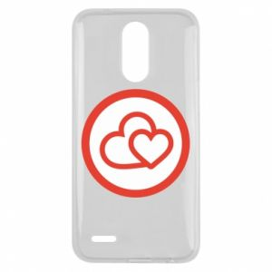 Lg K10 2017 Case Two hearts
