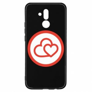 Huawei Mate 20Lite Case Two hearts