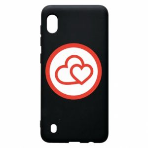 Samsung A10 Case Two hearts