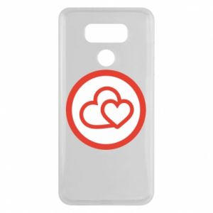 LG G6 Case Two hearts
