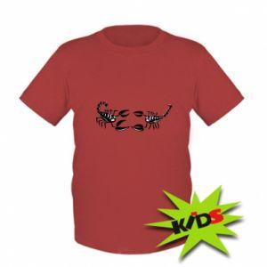 Kids T-shirt Two scorpions