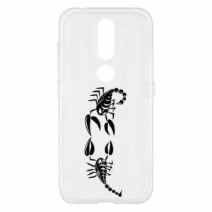 Etui na Nokia 4.2 Dwa skorpiony