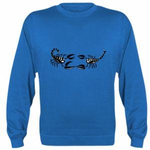 Bluza (raglan) Dwa skorpiony - PrintSalon