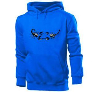 Men's hoodie Two scorpions