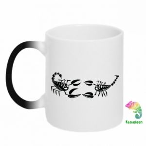 Chameleon mugs Two scorpions