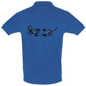 Koszulka Polo Dwa skorpiony - PrintSalon