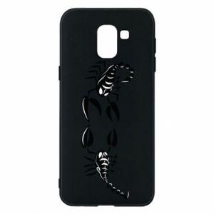 Etui na Samsung J6 Dwa skorpiony