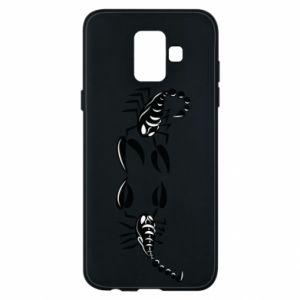 Etui na Samsung A6 2018 Dwa skorpiony