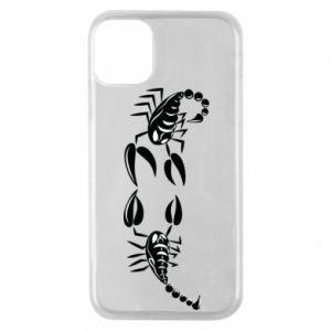 Etui na iPhone 11 Pro Dwa skorpiony