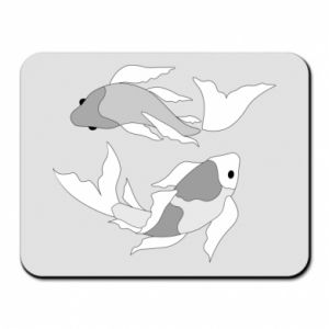 Mouse pad Two big fish