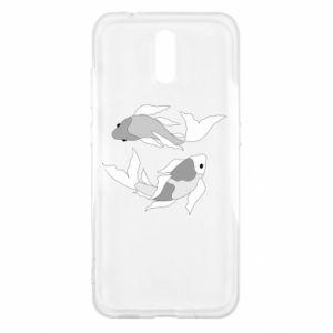 Etui na Nokia 2.3 Dwie duże ryby