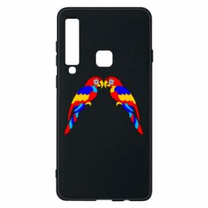 Phone case for Samsung A9 2018 Two bright parrots