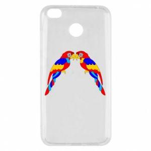 Xiaomi Redmi 4X Case Two bright parrots