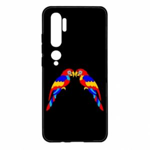 Xiaomi Mi Note 10 Case Two bright parrots