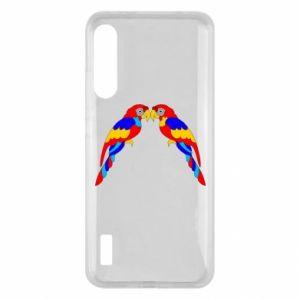 Xiaomi Mi A3 Case Two bright parrots