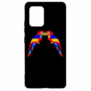Samsung S10 Lite Case Two bright parrots