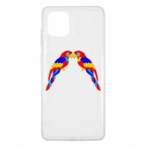 Samsung Note 10 Lite Case Two bright parrots