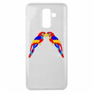 Samsung J8 2018 Case Two bright parrots