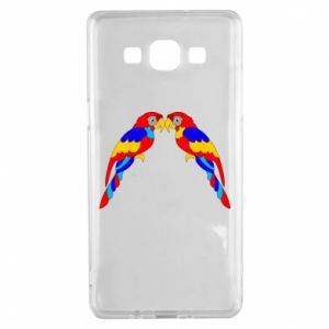 Samsung A5 2015 Case Two bright parrots