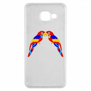Samsung A3 2016 Case Two bright parrots