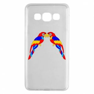 Samsung A3 2015 Case Two bright parrots