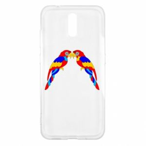 Nokia 2.3 Case Two bright parrots