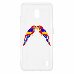 Nokia 2.2 Case Two bright parrots