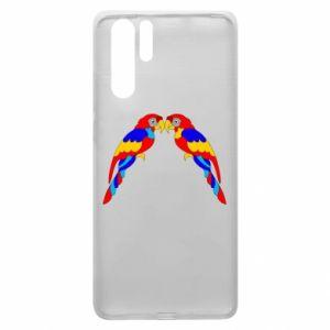 Huawei P30 Pro Case Two bright parrots