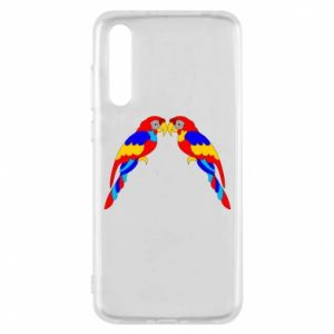 Huawei P20 Pro Case Two bright parrots