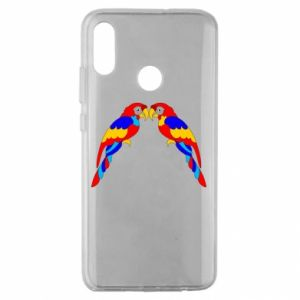 Huawei Honor 10 Lite Case Two bright parrots