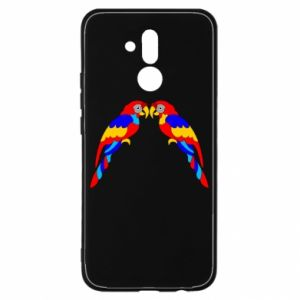 Huawei Mate 20Lite Case Two bright parrots