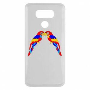 LG G6 Case Two bright parrots