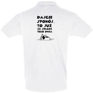Koszulka Polo DWUDZIESTY SPACER